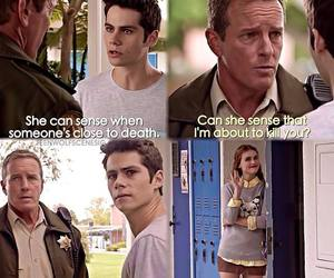 teen wolf, stiles, and lydia image