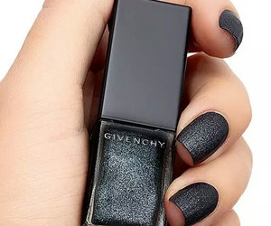 nails, black, and Givenchy image