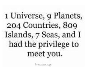 love, quotes, and universe image