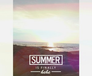 ocean, quote, and summer image