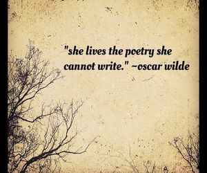 oscar wilde, poetry, and quote image