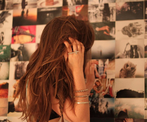 alone, hair, and girl image