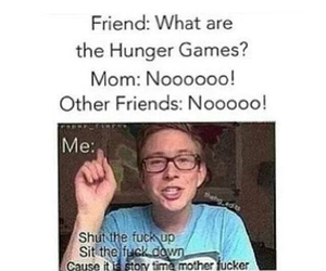 tyler oakley, funny, and hunger games image