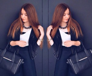 fashion, girl, and sweet image