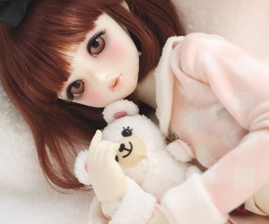 doll, ball jointed doll, and bjd image