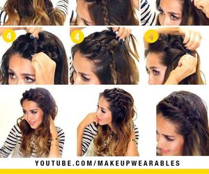 braid, Easy, and diy image