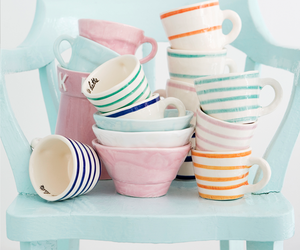 cute, pastel, and cup image