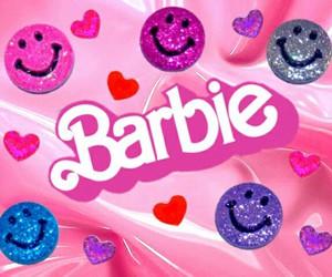 barbie, heart, and kawaii image