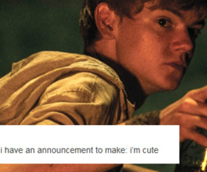 handsome, lol, and newt image
