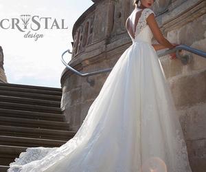 wedding, dress, and style image