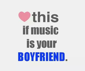boyfriend, music, and heart image