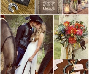country wedding, wedding, and wedding theme image