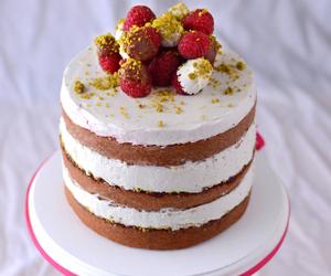 cake, food, and pretty food image