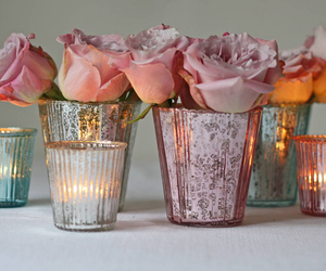beauty, valentines, and candles image