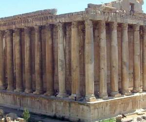 site, archaeological, and baalbek image
