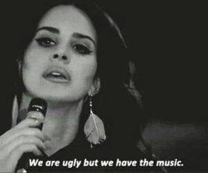 lana del rey, music, and ugly image