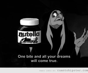 funny, lol, and nutella image