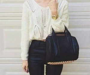 chic, tenue, and sac image