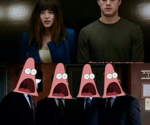 fifty shades of grey, patrick, and christian grey image