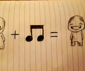 music, happy, and smile image