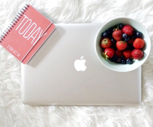 apple, beauty, and bed image