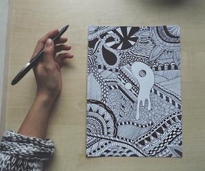 amazing, white, and black image