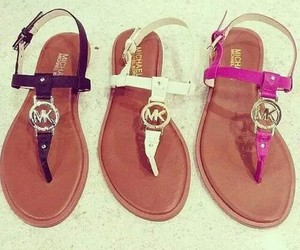 sandals, Michael Kors, and mk image