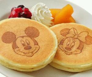 disney, breakfast, and food image