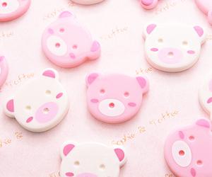 pink, bear, and kawaii image