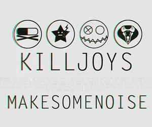 my chemical romance, killjoys, and mcr image