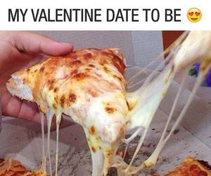 heart, live, and pizza image