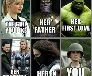 funny, Marvel, and Avengers image