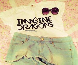 fashion, imagine dragons, and outfit image