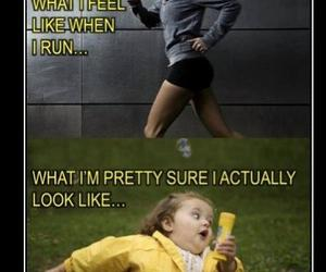 funny, running, and lol image