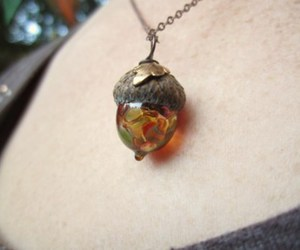 acorn and necklace image
