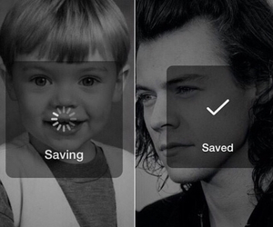 baby, harry, and adorbs image