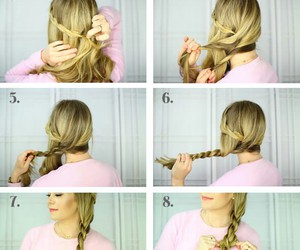 diy, long hair, and blond image