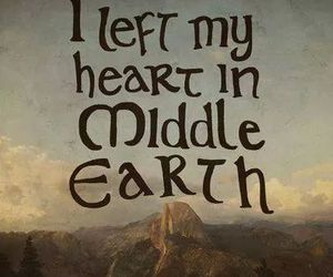 middle earth, LOTR, and hobbit image