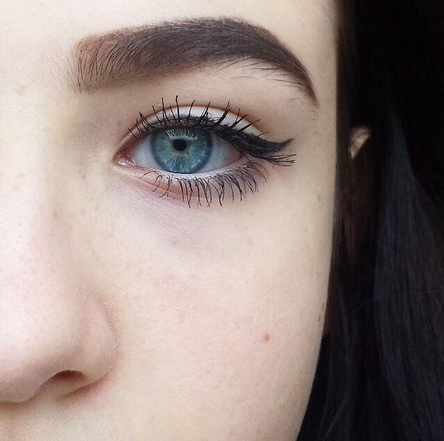 eyes, eye, and eyeliner image