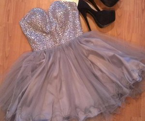 dress, short, and tulle image