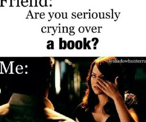 book, cry, and funny image
