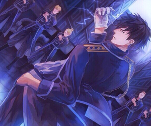 Full Metal Alchemist and roy mustang image