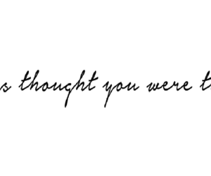 quote, thought, and the one image