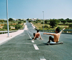longboard and friends image