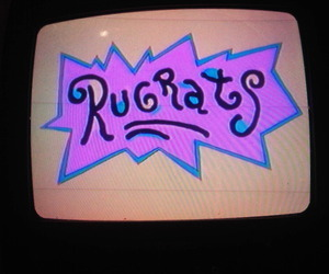 rugrats, 90s, and tv image