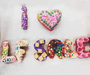 donuts, sale, and fashion image