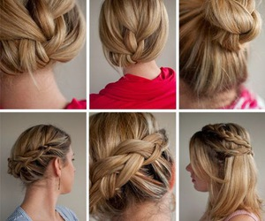 hairstyle, fashion, and tutorials image