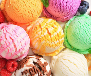 ice cream, food, and icecream image