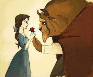 rose and beauti and beast image