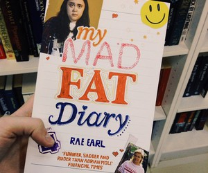 book, rae, and love image